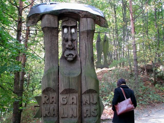 Raganų kalnas, Juodkrantė