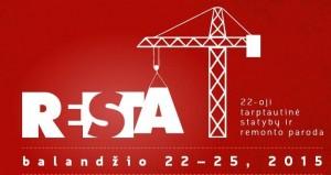 Parodos RESTA 2015 logotipas