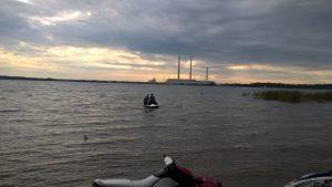 Plaukimas vandens motociklu