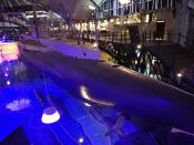 Hidroplanų muziejus ir povandeninis laivas