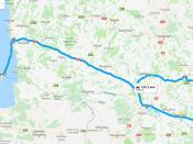 Kelionės maršrutas